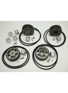 Wheel, Tire and Hub Set