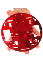 Robot Chassis RRC01A Transparent Red