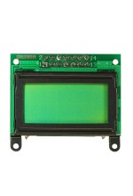 8x2 character LCD (parallel interface)