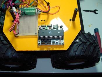 ATMega32 on a robot platform