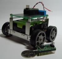 ATMega48-controlled BUGGER Robot