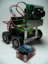 BUGGER robot with AVRCam and XBee radio module