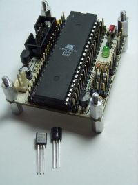 ATMega644 and DEV32 board running at 3.3v