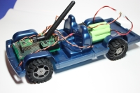 Trukster robot - side view